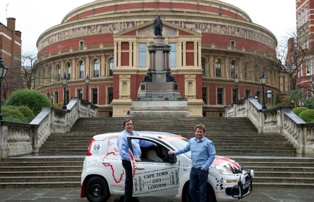 Mit dem Fiat Panda von Kapstadt nach London