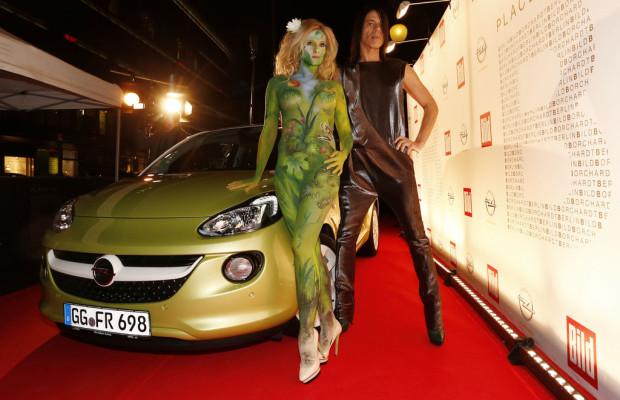 Mit dem Opel Adam auf den roten Teppich