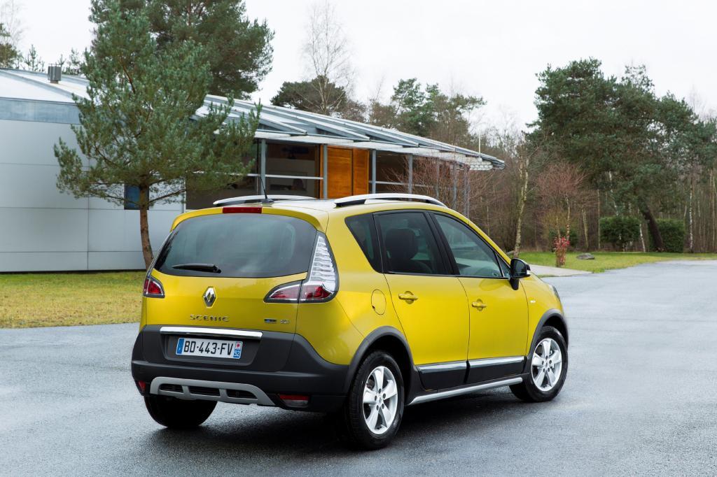 Mit einer neuen Variante des Scenic wartet Renault auf