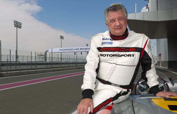 Motorsport-Legende Hans Herrmann wird 85 Jahre
