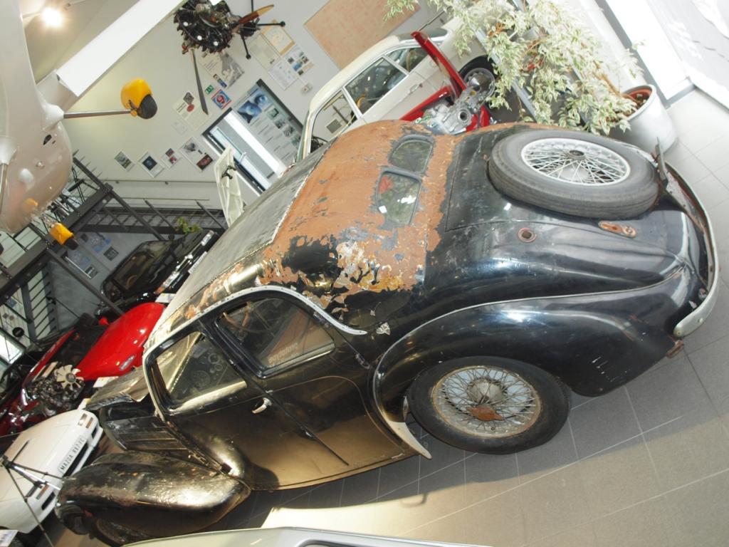 Museum AUTOVISION: Unrestaurierter Bugatti T57 aus Schlumpf-Sammlung