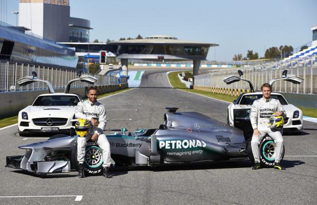 Neuer Silberpfeil F1 W04 in Jerez vorgestellt