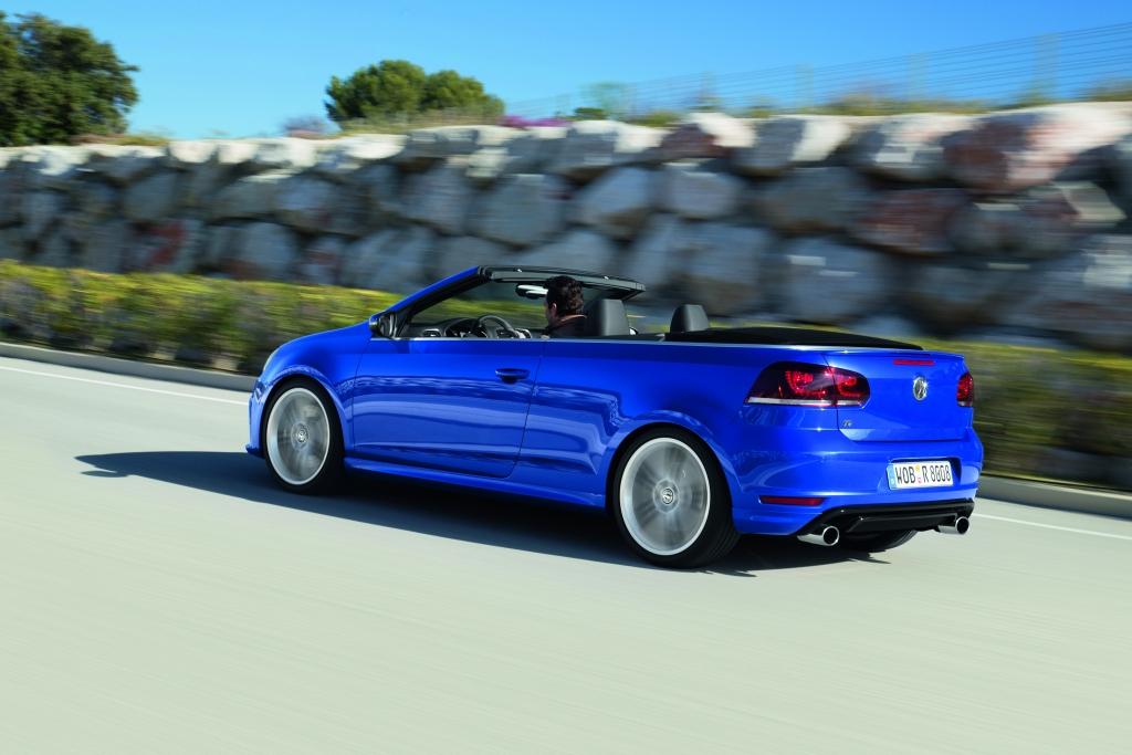 Neuvorstellung VW Golf R Cabrio -