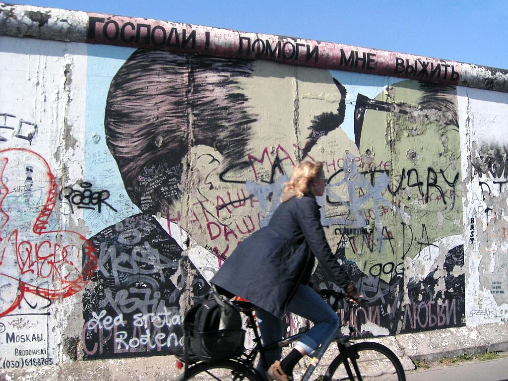 Nicht nur Radfahrer sind in Berlin erstaunlich gut unterwegs.