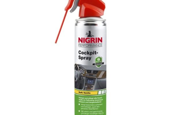 Nigrin »Performance«: Reinigendes Cockpit-Spray liefert gute Luft