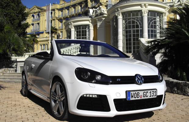 Offene Stärke: VW setzt im ersten Golf R Cabrio Vierzylinder-Turbo mit 265 PS ein