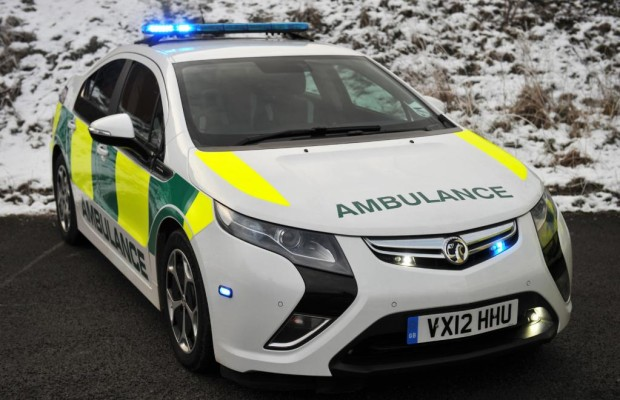 Opel Ampera als Rettungsfahrzeug