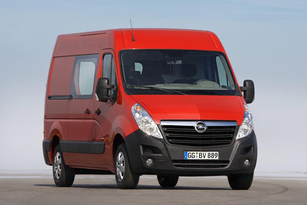 Opel Movano mit neuen Ausstattungsoptionen