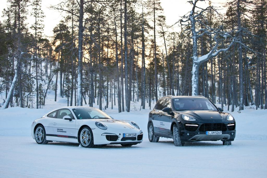 Panorama: Porsche Driving Experience - Holiday on Ice
