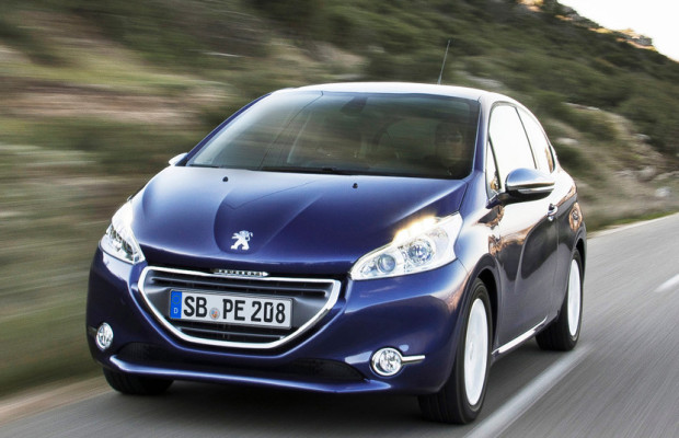Peugeot 208 im Dezember 2012 meistverkaufter Kleinwagen