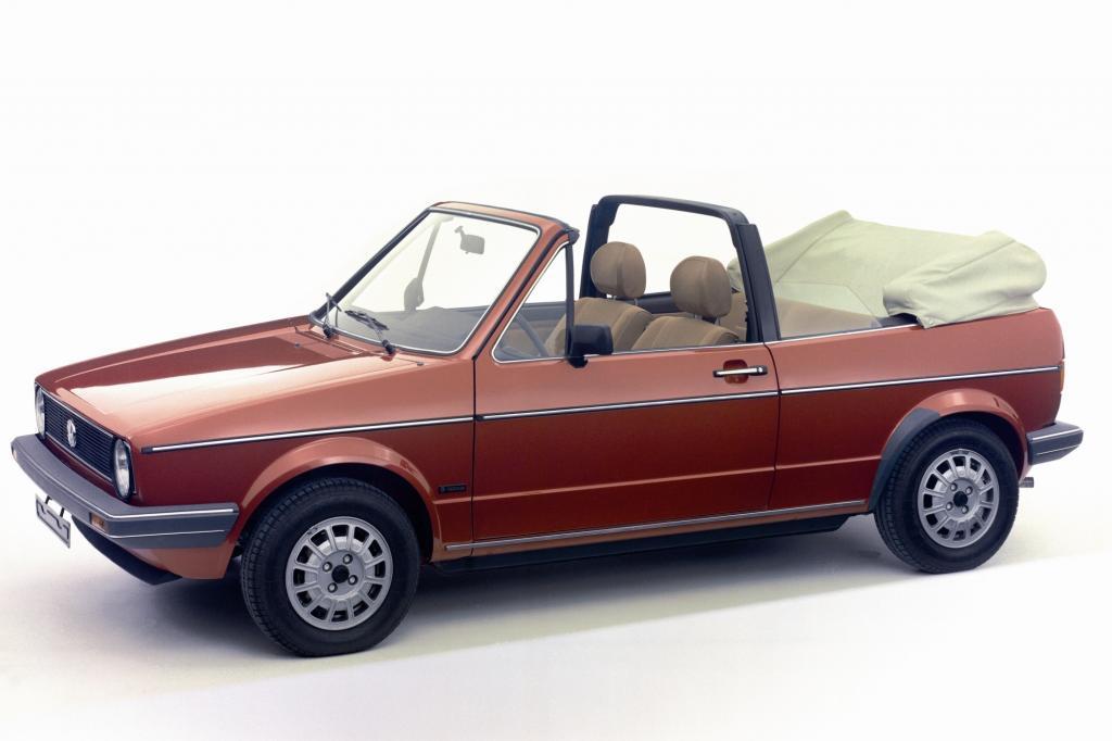 Platz 10: Volkswagen Golf Cabrio 1979