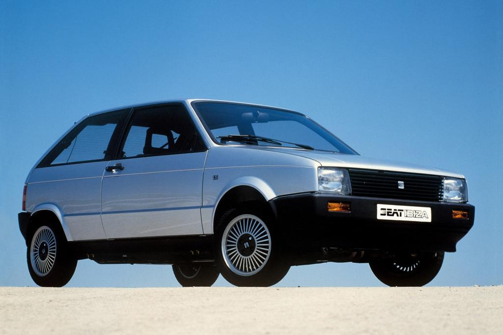 Platz 12: Seat Ibiza 1984
