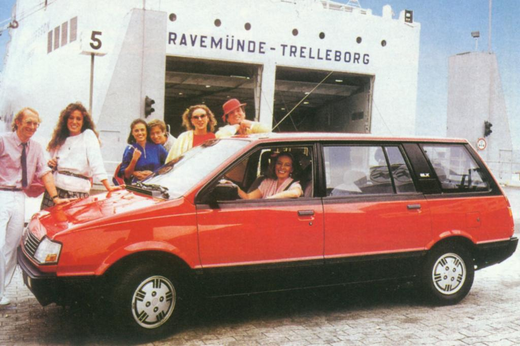 Platz 18: Mitsubishi Space Wagon 1983