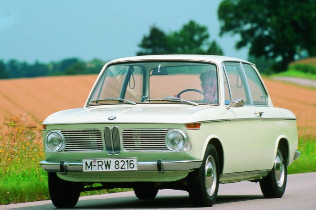 Platz 4: BMW 1600 Jahr 1966