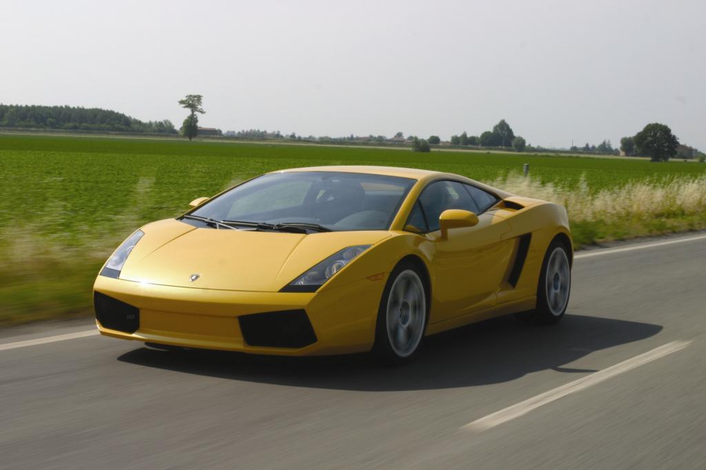 Platz 5: Lamborghini Gallardo 2003