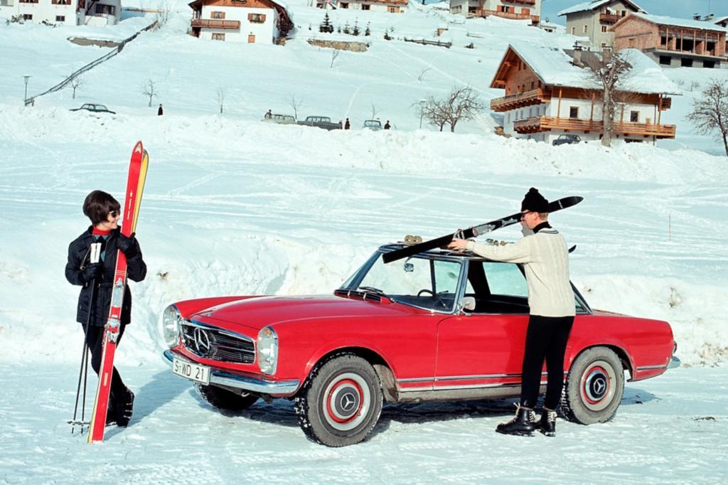 Platz 7: Mercedes Benz 230 SL 1963