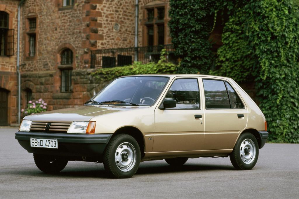 Platz 9: Peugeot 205 1983