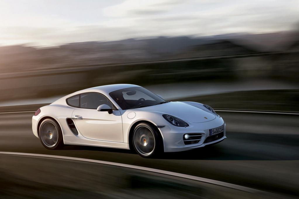 Porsche Cayman S: Der kleine Elfer
