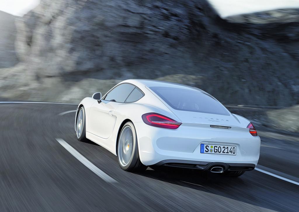 Porsche Cayman ab März im Handel