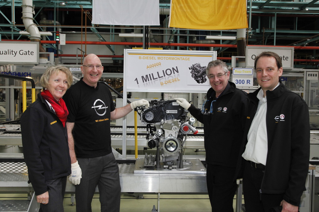 Produktionsjubiläum im Opel-Werk Kaiserslautern