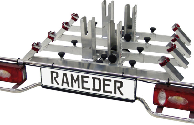 Rameder ergänzt Fahrradträger um Wildwanne für Jäger