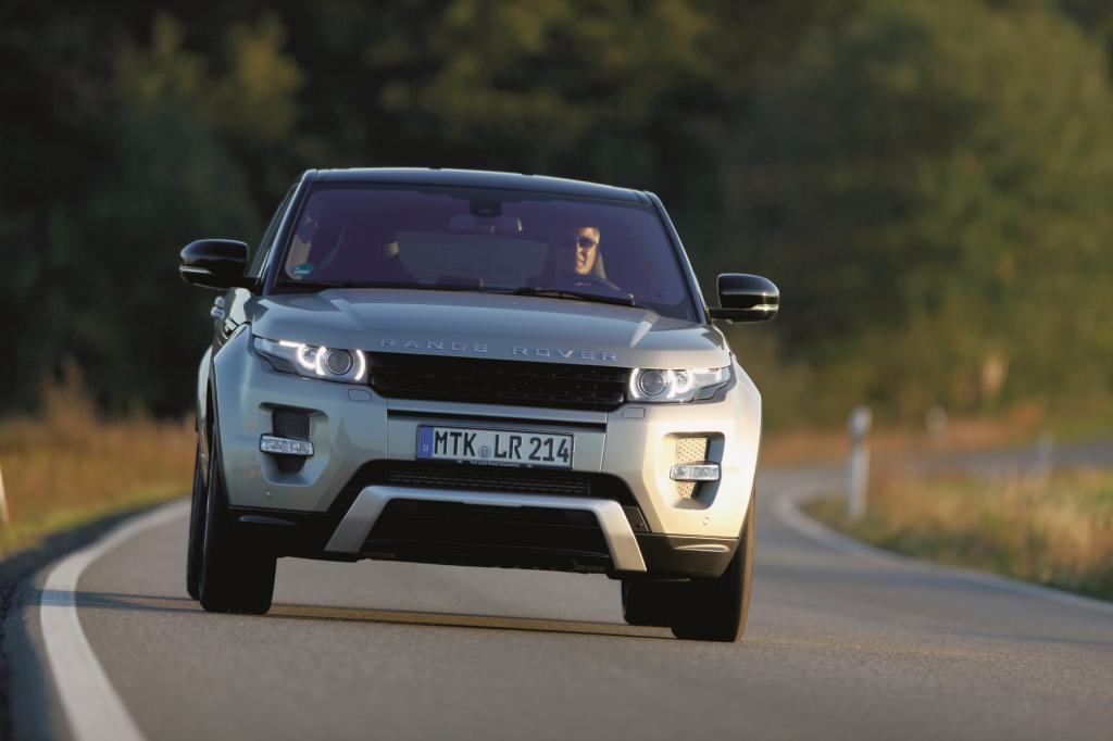 Range Rover Evoque - Neun Gänge für mehr Effizienz
