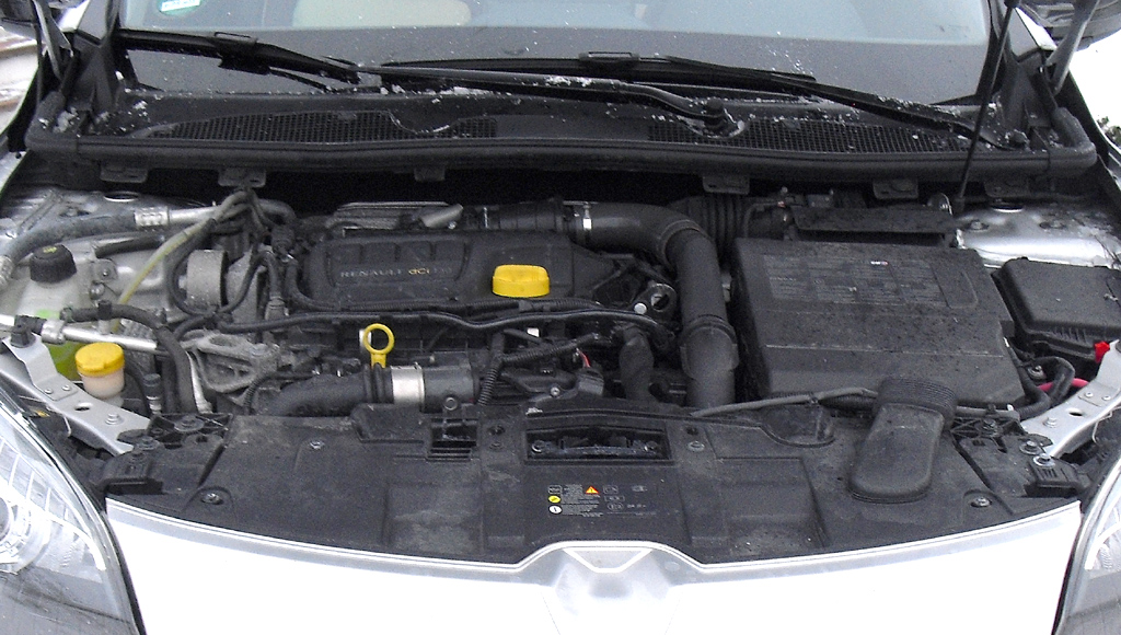 Renault Mégane: Blick auf den 1,6-Liter-Energy-Selbstzünder.