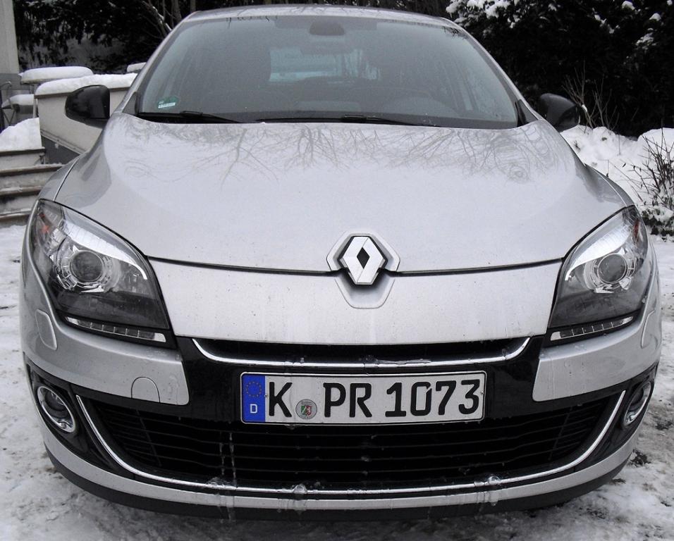 Renault Mégane: Blick auf die Frontpartie.