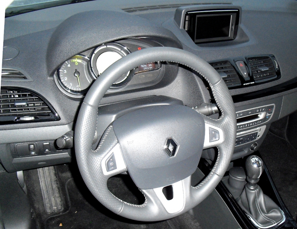 Renault Mégane: Blick ins Cockpit.