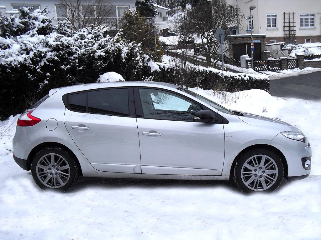 Renault Mégane: Und so sportlich sieht das Kompaktmodell von der Seite aus.