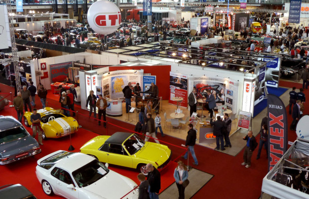 Retro Classics 2013: GTÜ demonstriert Oldtimer-Kompetenz