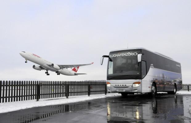 Setra Comfort Class für den Flughafen Zürich