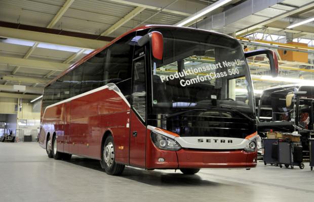 Setra startet Produktion der neuen Comfort Class 500