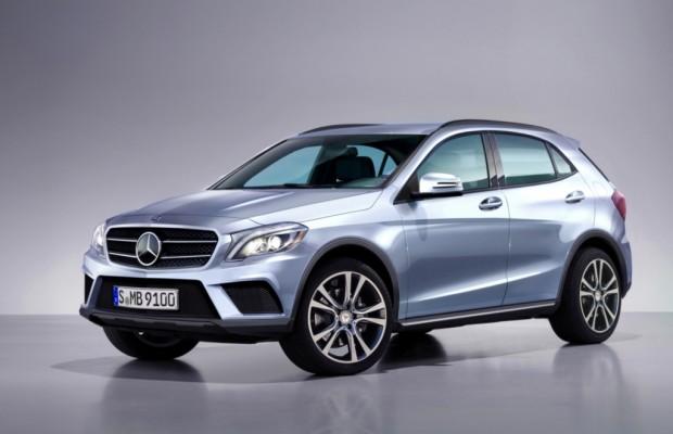 Shanghai 2013: Mercedes GLA - Wieder ein Hochsitz in der A-Klasse
