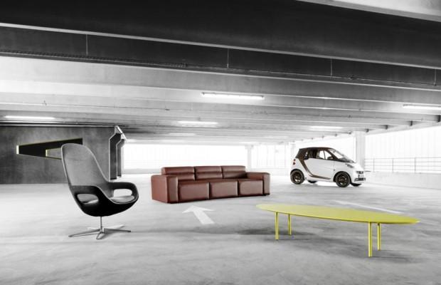 Smart Fortwo BoConcept - Rollendes Möbeldesign