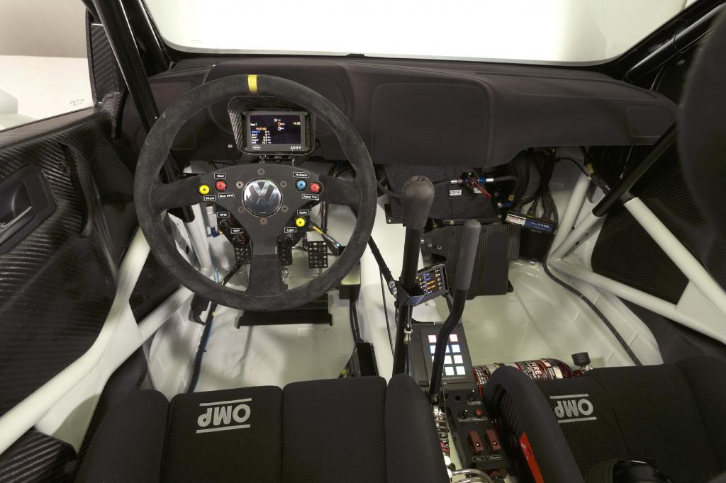 So sieht ein Arbeitsplatz von Rallye-Profis aus
