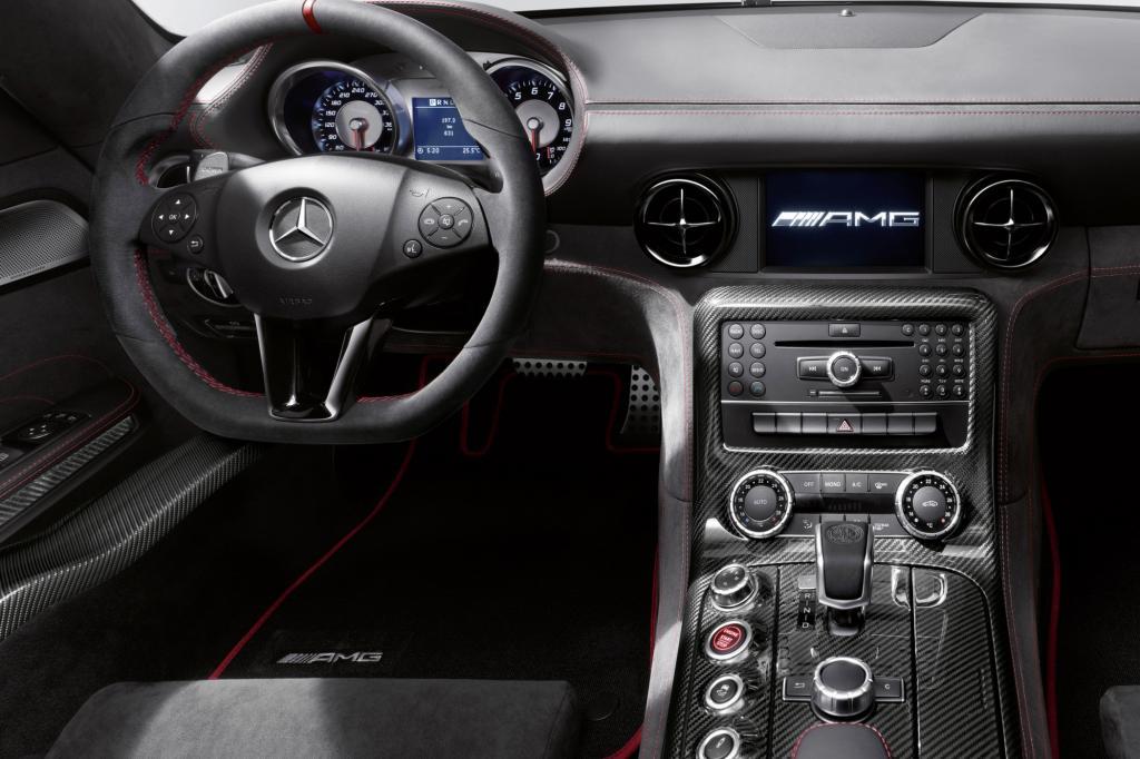 Supersportwagen Mercedes SLS