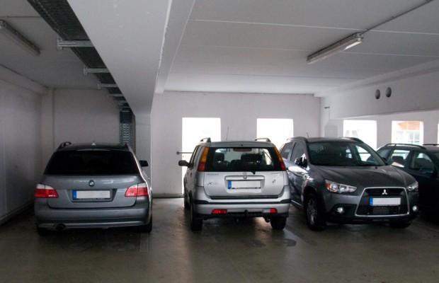 Tiefgaragenplatz nur für Kraftfahrzeuge