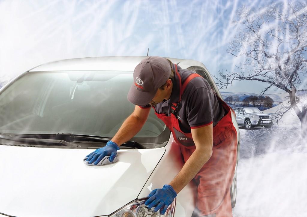 Toyota bietet Fahrzeugversiegelung