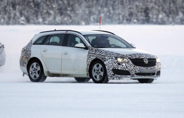 Update: Erwischt: Opel Insignia Facelift – Mehr als nur ein Facelift