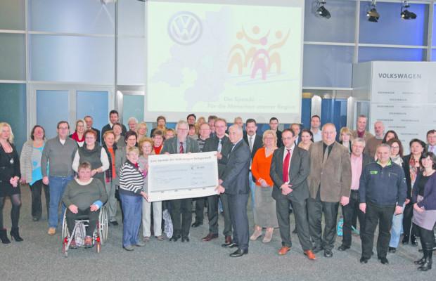 VW-Belegschaft unterstützt 24 Organisationen