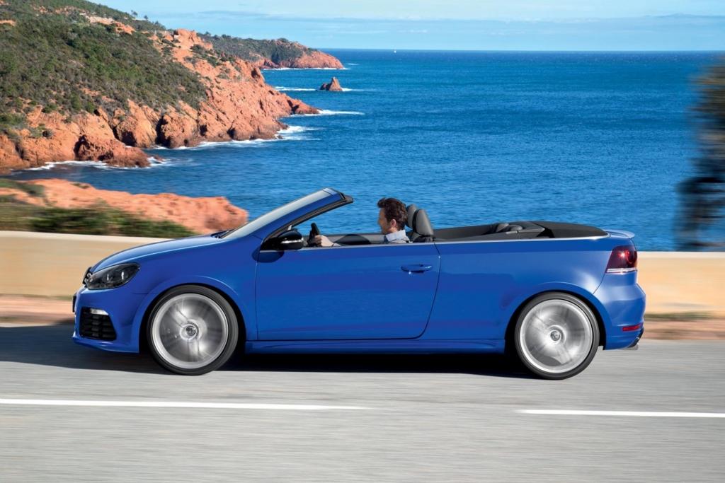 VW Golf Cabrio R - Sportwagen mit Stoffmütze