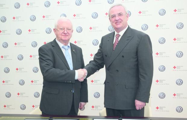 VW-Konzern und DRK vereinbaren strategische Partnerschaft