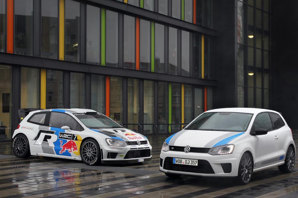 VW Polo R WRC - Teer statt Dreck