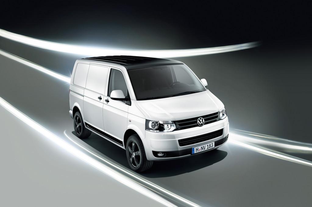 Volkswagen peppt Transporter sportlich auf