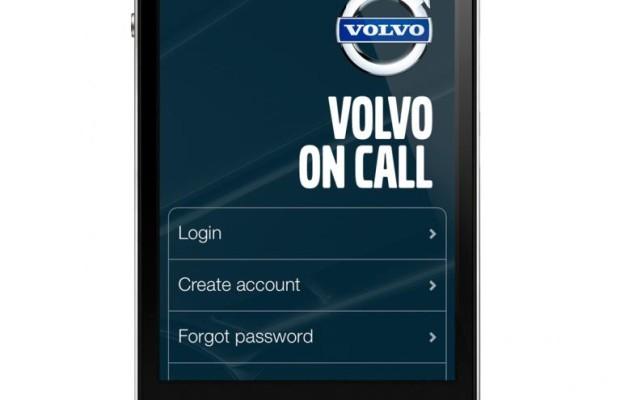 Volvo überarbeitet Smartphone-App