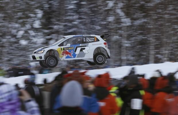 WRC Schweden-Rallye: Sébastian Loeb immer noch auf Platz 2