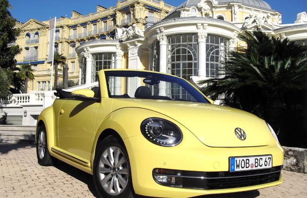 Weniger weichgespült: VW hat neues Beetle Cabrio am Start / Fünf Turbos