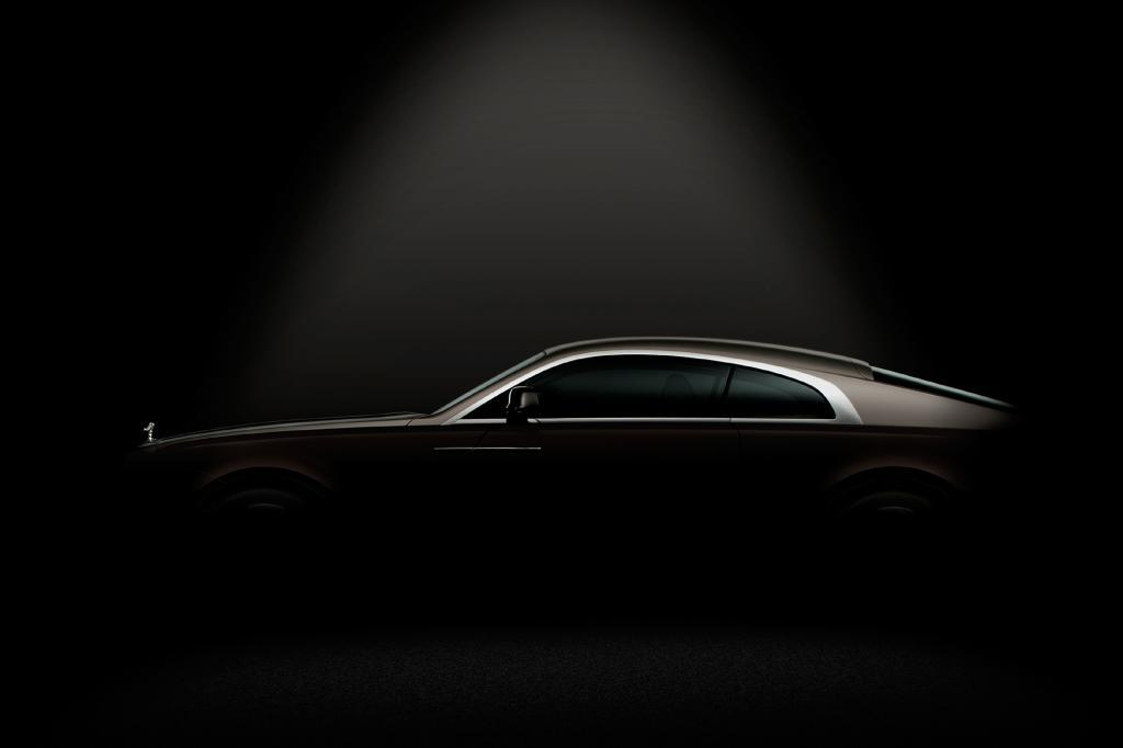 Wraith heißt der neueste Rolls-Royce