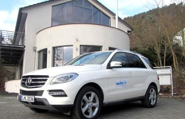 Auto im Alltag: Mercedes ML-Klasse